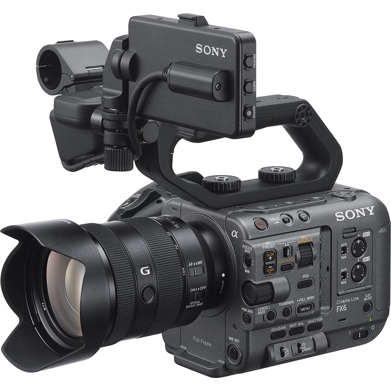 New camera – Sony FX6